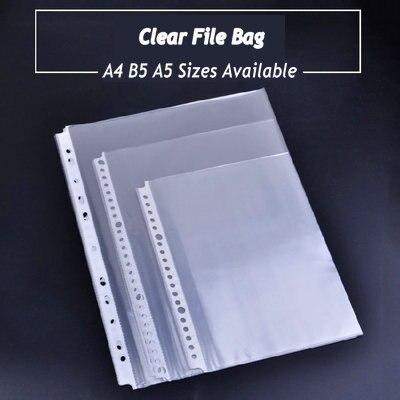 Папка для документов на кольцах, Прозрачная ПВХ-пленка для листов А1, А2, А4