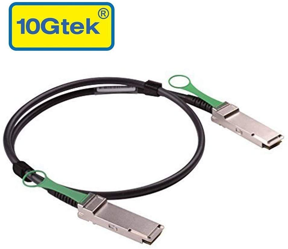 40G QSFP+ DAC Cable - 40GBASE-CR4 Passive Direct Attach Copper Twinax QSFP Cable for Cisco QSFP-H40G-CU2M, 2-Meter(6.5ft)