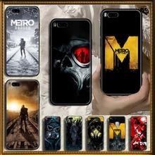 Чехол для телефона Game Metro 2033 для Xiaomi Mi Max, Note 3, A2, A3, 8, 9, 9T, 10 Lite Pro, Ультрачерный, 3D Водонепроницаемый Мягкий чехол с рисунком