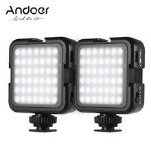 1 шт./2 шт., светодиодные лампы для видеосъемки, 6000 К