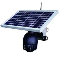tuya app 15w solar panel 1080p wifi wireless outdoor yard with battery solar ptz camera