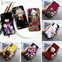 makoto nagito komaeda phone case for xiaomi redmi note 7 8 9 pro 8t 9s mi note 10 lite pro
