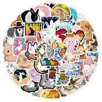 103050 pcs latest non repeatable cartoon cute rabbit waterproof suitcase guitar toy decoration sticker wholesale