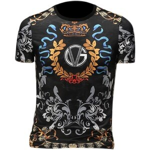 Luxury Vintage Printed T-Shirt Men Short Sleeve Streetwear Male Clothing Summer O-neck Casual Tops Breathable Comfortable M-7XL