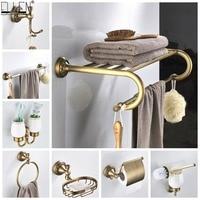 Античная бронзовая Полка для полотенец, держатель для туалетной бумаги, держатель для мыла, держатель для полотенец, античная бронза ELF4001