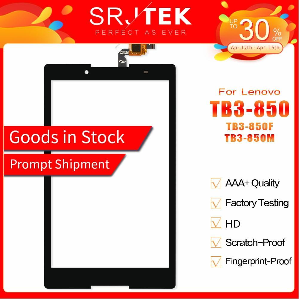 Srjtek For Lenovo Tab3 Tab 3 8 850 TB3-850 TB3-850F TB3-850M Touch Panel Touch Screen Digitizer Glass Sensor Replacement
