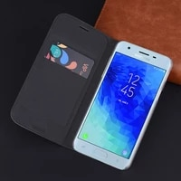 flip leather cover phone case for samsung galaxy j3 j4 j6 j7 j8 2018 j 3 4 6 7 8 sm j400 j400f j600 j810 wallet case card holder