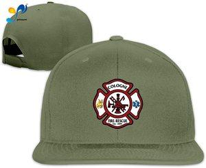 Yellowpods Future Firefighter Logo Symbol Men's Relaxed Medium Profile Adjustable Baseball Cap