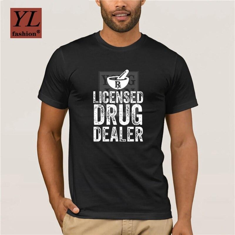 Gran oferta 2020, distribuidor con licencia de moda, divertida camiseta impresa Pharmacy, camiseta moderna