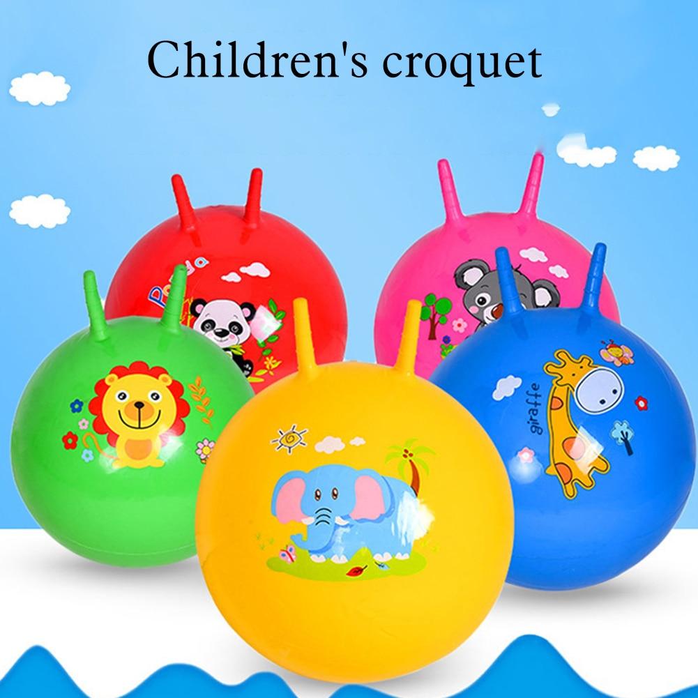 Популярные детские мячи-Хоппер, 60 см, мячи-когти, развивающие уличные спортивные игрушки, мячи для прыжков для детского сада, рандомики