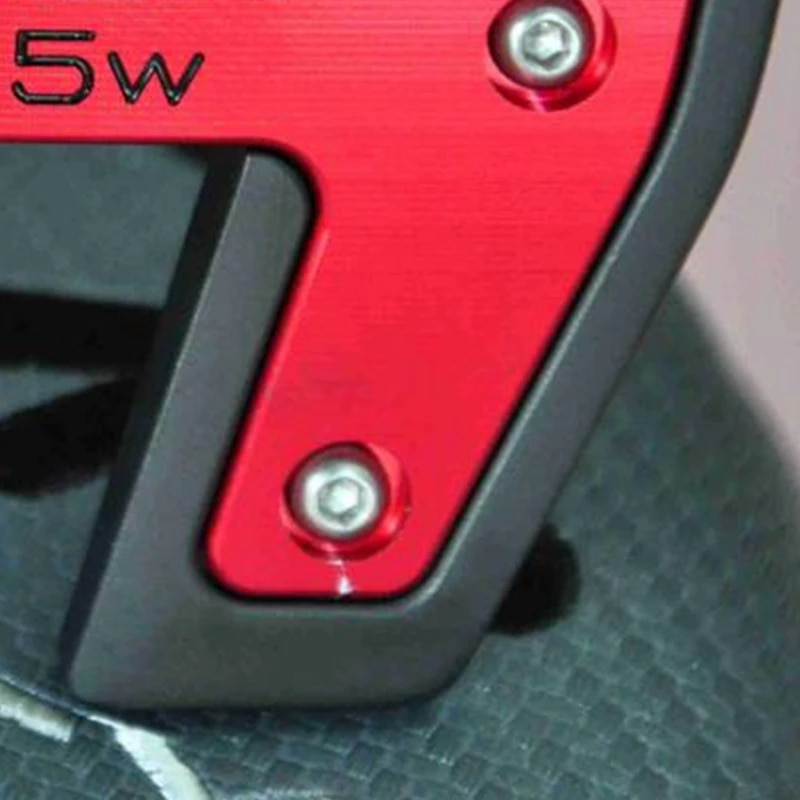 Free shipping.golf putter red FUTURA 5W sun sunshine skull whole finished golf putter club with cover and wrench
