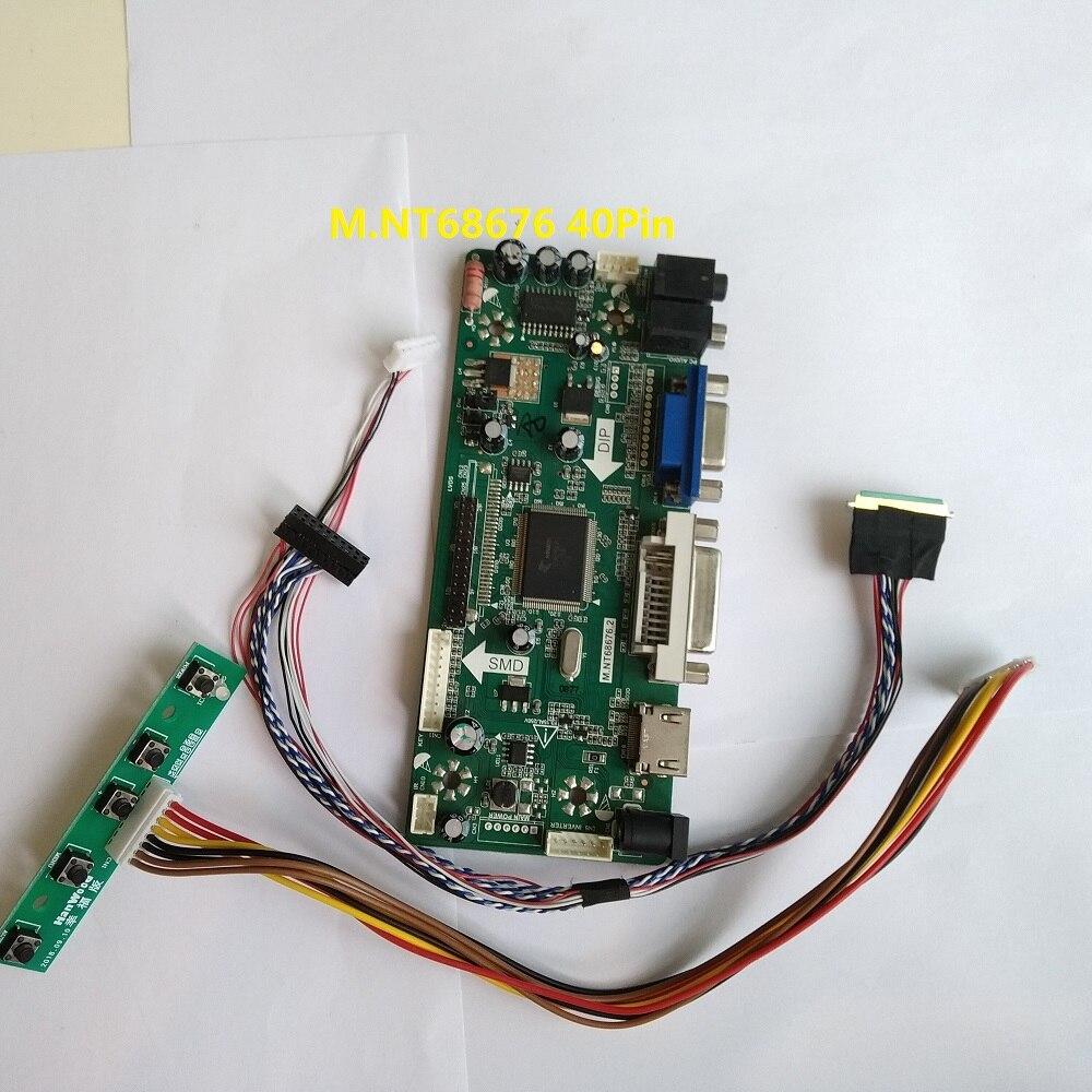عدة ل LM230WF5-TLF5 40pin LVDS HDMI VGA بطاقة الصوت لتقوم بها بنفسك 1920X1080 تحكم مجلس شاشة رصد DVI لوحة LED LCD 23
