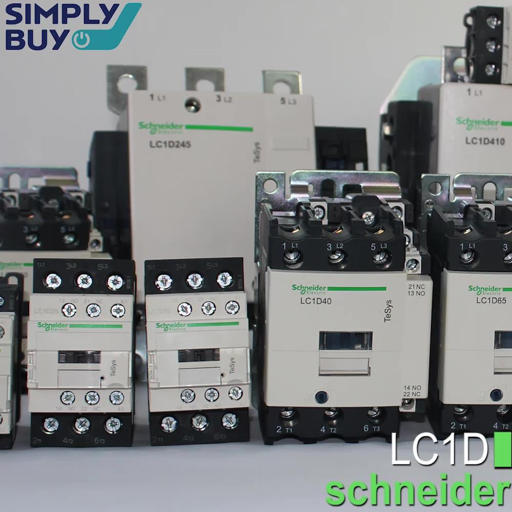 LC1D40A LC1D50A LC1D65A ac contactor