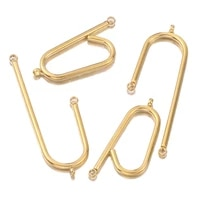 10pcslot new diy earrings findings stainless steel long connecting for jewelry making earring pins findings diy supplies