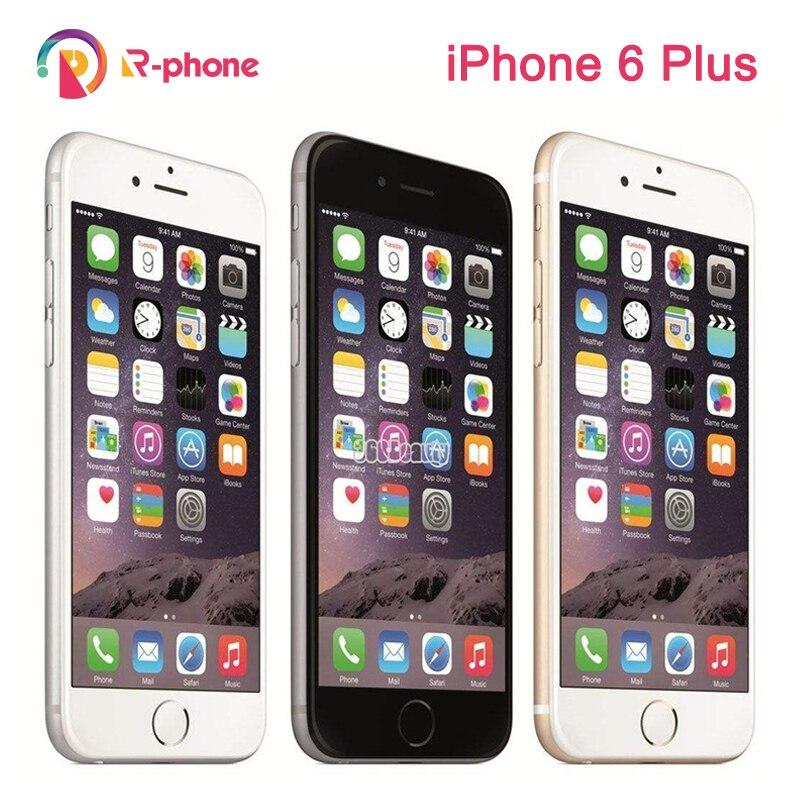 "Original Apple iPhone 6 Plus 5.5"" 16/64/128GB ROM Dual Core  IOS  8MP Camera 3G 4G LTE Used Unlocked Phone"