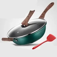 maifan stone non stick frying pan household cooking pot induction cooker gas special frying pan uncoated frying pots and pans