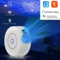 1PC Tuya smart WiFi APP a distance LED projecteur de ciel etoile LED veilleuse intelligente etoile galaxie lampe compatible avec Alexa Google Home