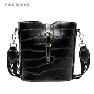 Pink Sugao luxury handbags women bags designer women purse designer crossbody bag famous brand purses and handbags women bucket