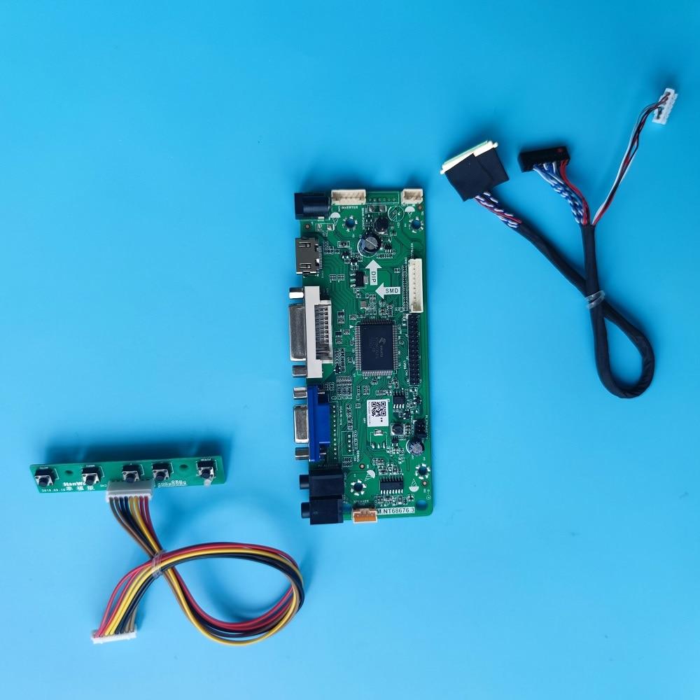 LED DVI LCD M.NT68676 الصوت VGA LVDS لوحة تحكم لوحة الشاشة ل 13.3
