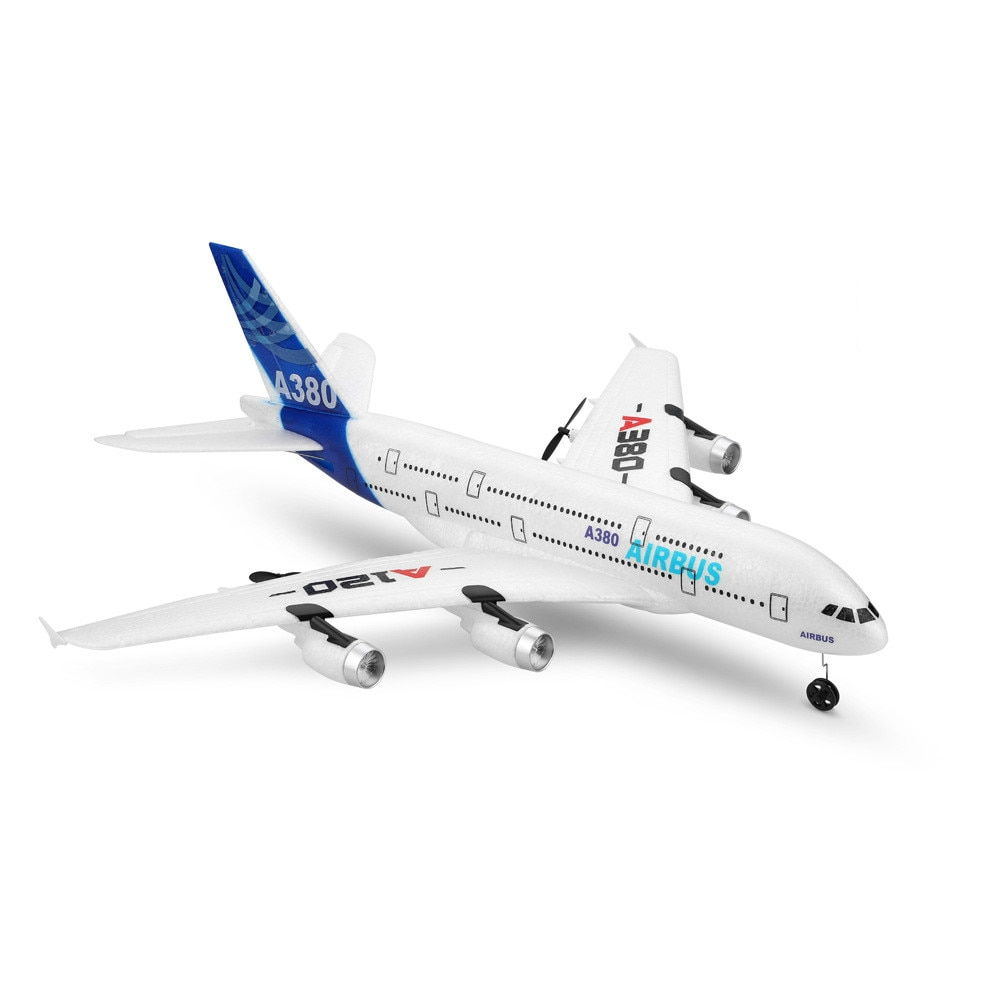 Simulation Airbus A120-A380 2.4GHz 3CH RC Airplane Fixed Wing Glider Drone Aeromodelling Remote Control Aircraft Flight Toys enlarge