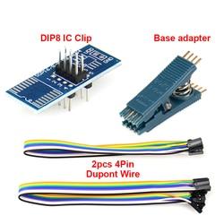 Тест ing clip SOIC 8 SOIC8 DIP8 DIP 8 Pin IC Инструменты чип Программирование Программа тест ing тест клип для TL866/EZP2019/RT508H