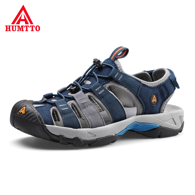 humtto summer men sandals 2021 breathable beach sandals for men's outdoor water mens hiking camping fishing climbing aqua shoes HUMTTO Summer Hiking Men Sandals 2021 Breathable Beach Sandals for Men's Outdoor Water Mens Camping Fishing Climbing Aqua Shoes