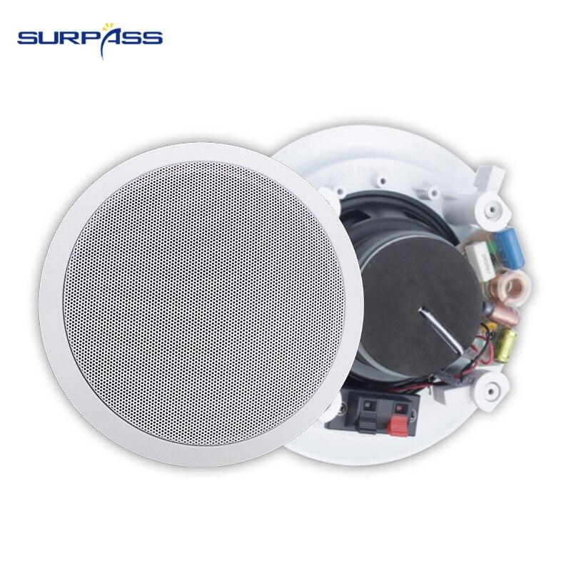 30W 6inch Ceiling Speaker Active Indoor Used Coaxial In Ceiling Speaker