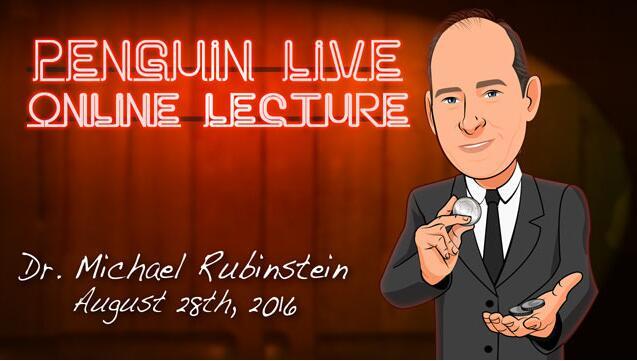 Michael Rubinstein Penguin Live ACT2MAGIC TRICKS