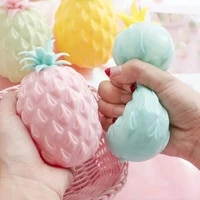 office pressure release antistress toy simulation flour pineapple fidget toys stress balls decompression toy toyss for children