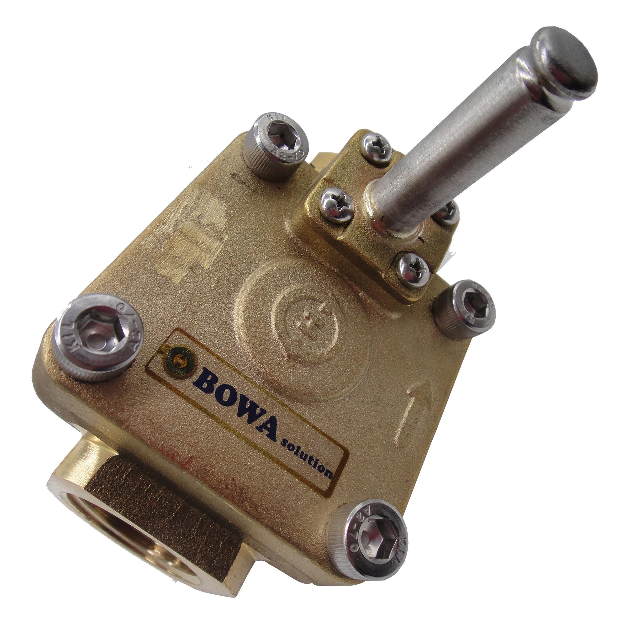 تستخدم 20bar, DN10 & NC اضاءات الملف اللولبي في ماكينة معالجة الطعام ، مثل آلة صنع أيس كريم او منظف الفواكه