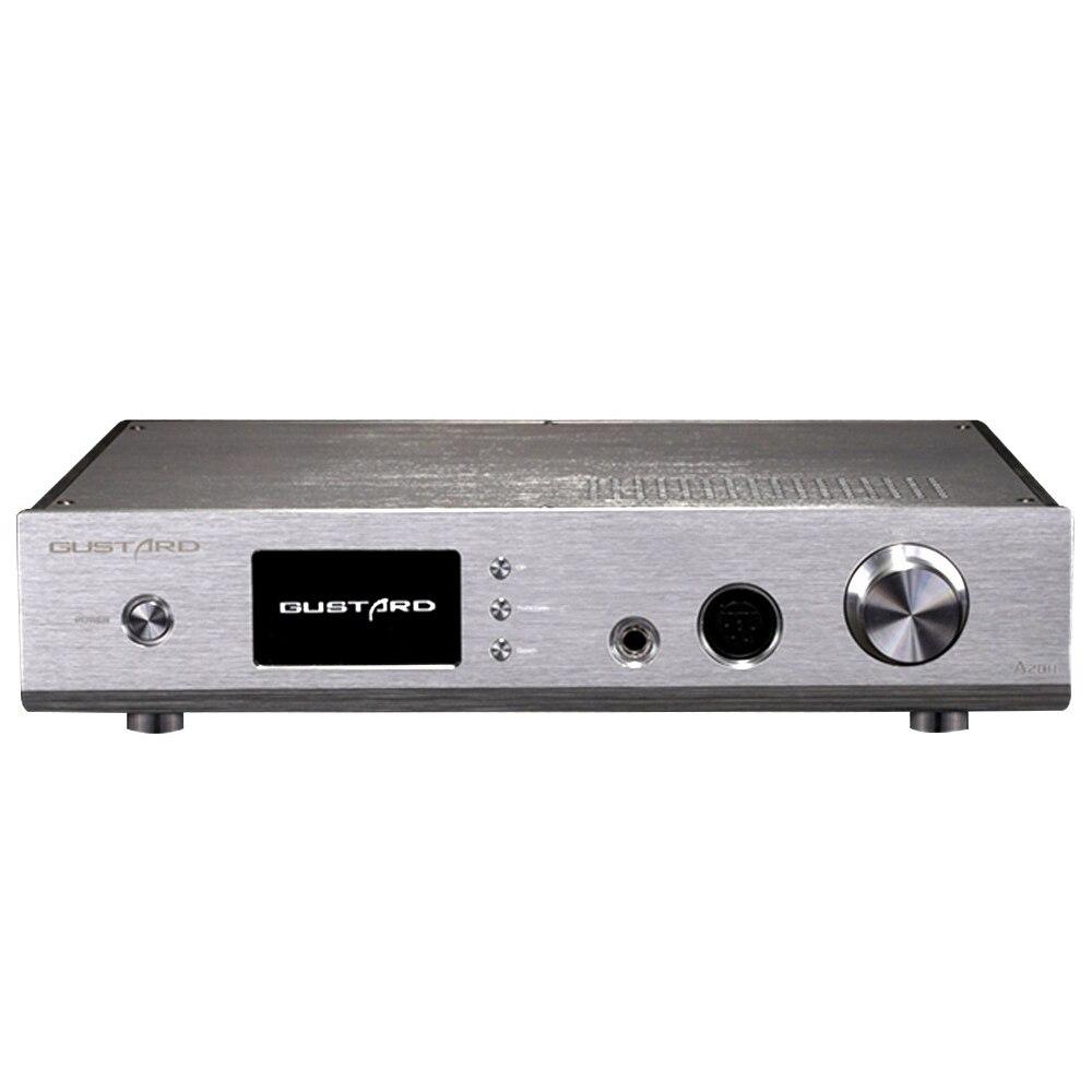 AMPLIFICADOR DE AURICULARES GUSTARD A20H Dual AK4497 XMOS USB PCM/DSD DOP DAC, decodificador y amplificador de auriculares de clase A completamente equilibrado