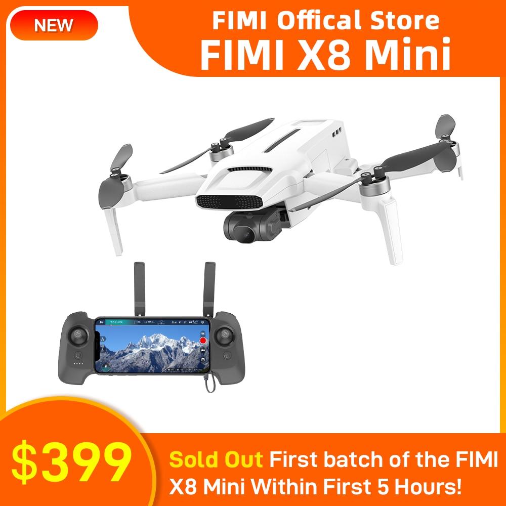 FIMI X8 Mini Camera Drone 250g-class drones 8km 4k professional mini drone word premiere at April 6th to 8th April best price