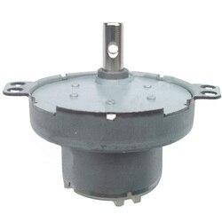 O mini metal alinhou o motor 3/5/6/12/24v da c.c. elétrica pequena de baixa velocidade reversível com quatro tipos de eixos para o dispositivo esperto