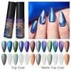 Msruioo Matte Top Coat Uv Gel Nagellak Chameleon Kleur Gel Matte Effect Soak Off Nail Art Gel Vernis Lak diy Manicure