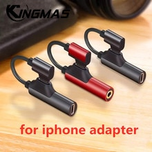Headphone 2-in-1 Dual-port Headphone Adapte for iPhone 12 pro 6 7 8 Plus X XS Xs Max 11 Audio Charge
