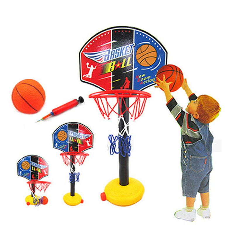 Kids Basketball Hanging Hoop Indoor Basket Ball Stand Mini Adjustable Basketball Board Family Basket Game Basketball Toy Set adjustable kids basketball stand hoop indoor outdoor shooting toy with metal pole