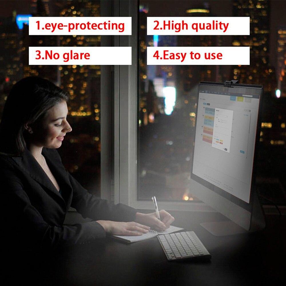 Screenbar E-Reading Lamp USB Computer Monitor Lamp Eye Care Light LED Desk Lamp PC Computer Laptop Screen Bar Hanging Lights