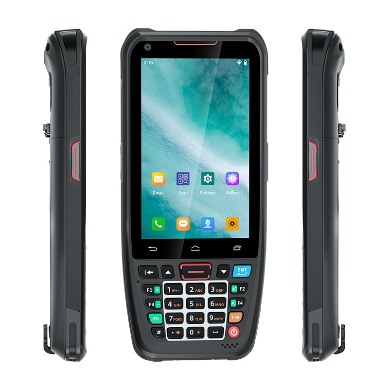 UNIWA HS002 Slim Handheld Mobile Phone with 1D/2D Laser Scanner 2G 16G Android 10 SmartPhone for QR Code PDA Barcode Cellphone enlarge