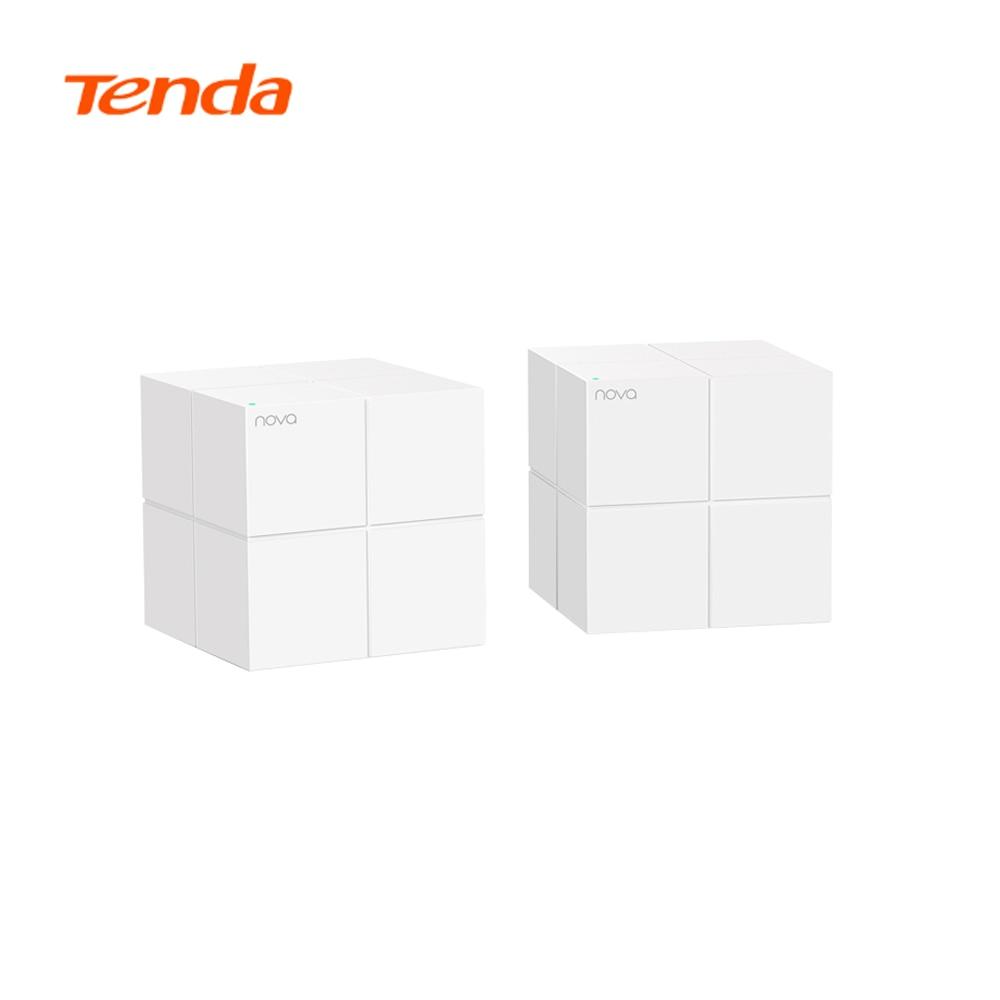 Tenda Nova MW6 Mesh Whole Home Wireless WiFi System 11AC 2.4G/5.0GHz Gigabit Router 2pcs/lot 6000 sq.ft Coverage