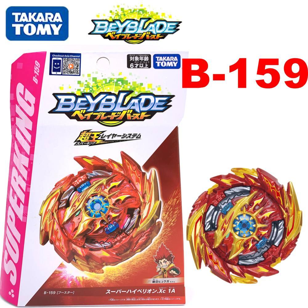 Оригинальный TAKARA TOMY BEYBLADE BURST Booster B-159 Super Hyperion.Xc 1A