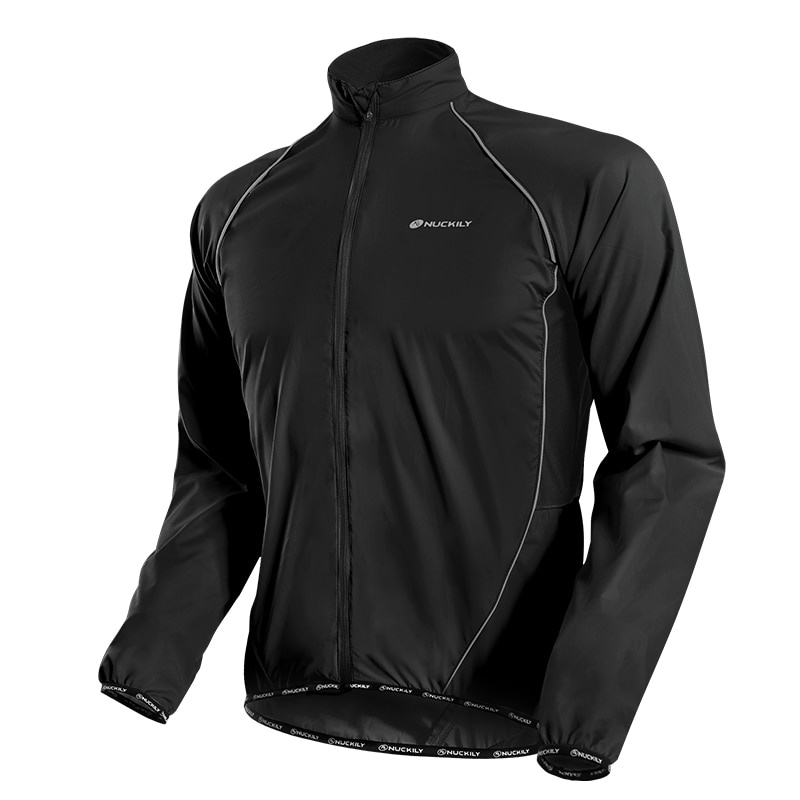 NUCKILY Women Lightweight Cycling Jackets Long Sleeve Riding Bike Clothes UV Protection Bicycle Coat Women's Windbreaker Jacket