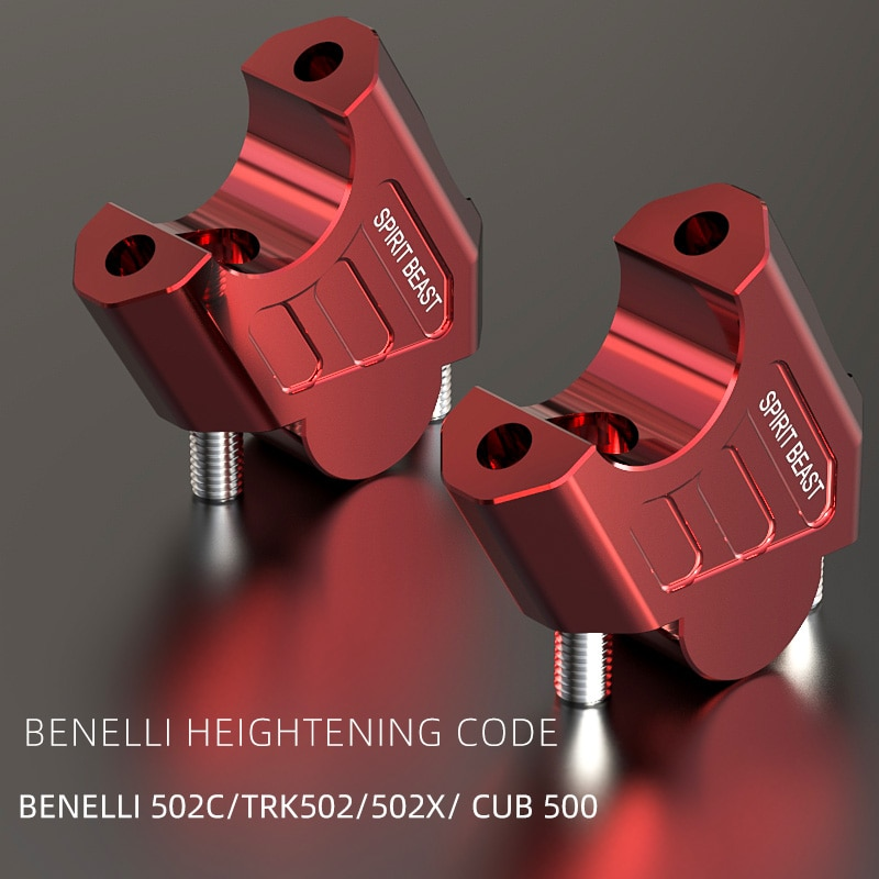Espíritu beast BJ502C código de presión de manillar BJ500GS, mango de diámetro variable, 28MM, grip, código de altura de transferencia