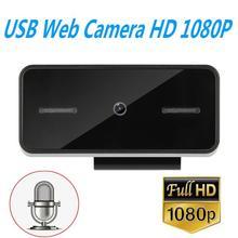 HD 1080P Webcam con Microfono 1920*1080 Del Computer PC Web Camera USB2.0 Auto Messa A Fuoco Per La Trasmissione In Diretta Video conferenza