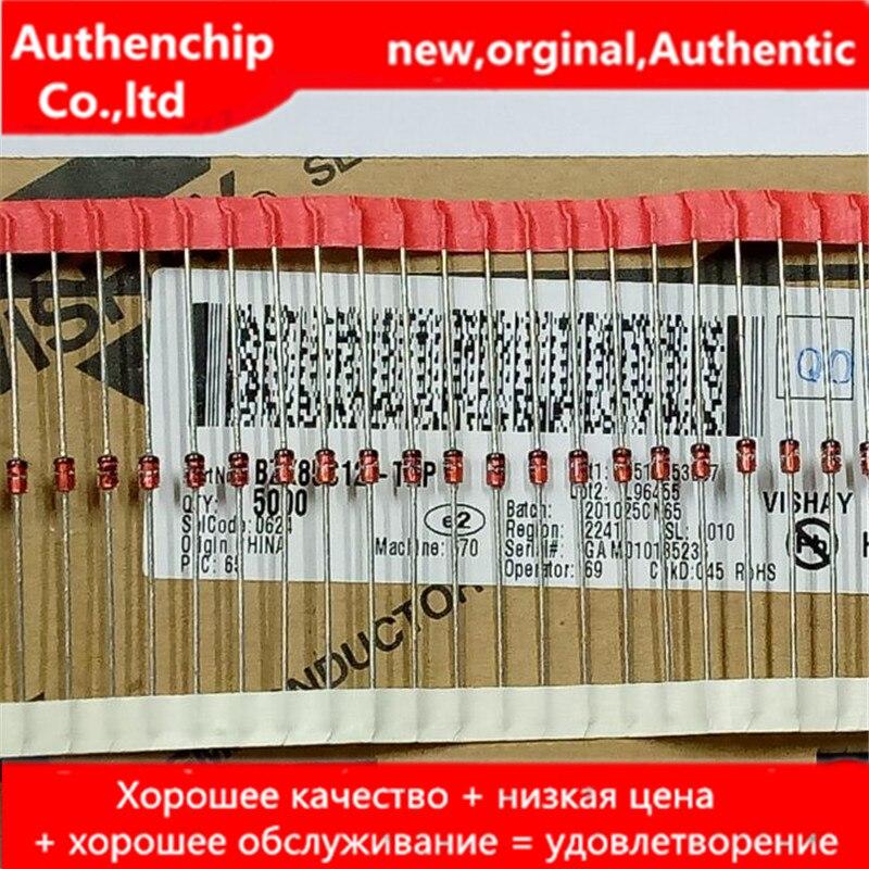 30 pces 100% novo e original TZX5V1A-TAP zener tubo 1/2w do35 4.8-5.0v