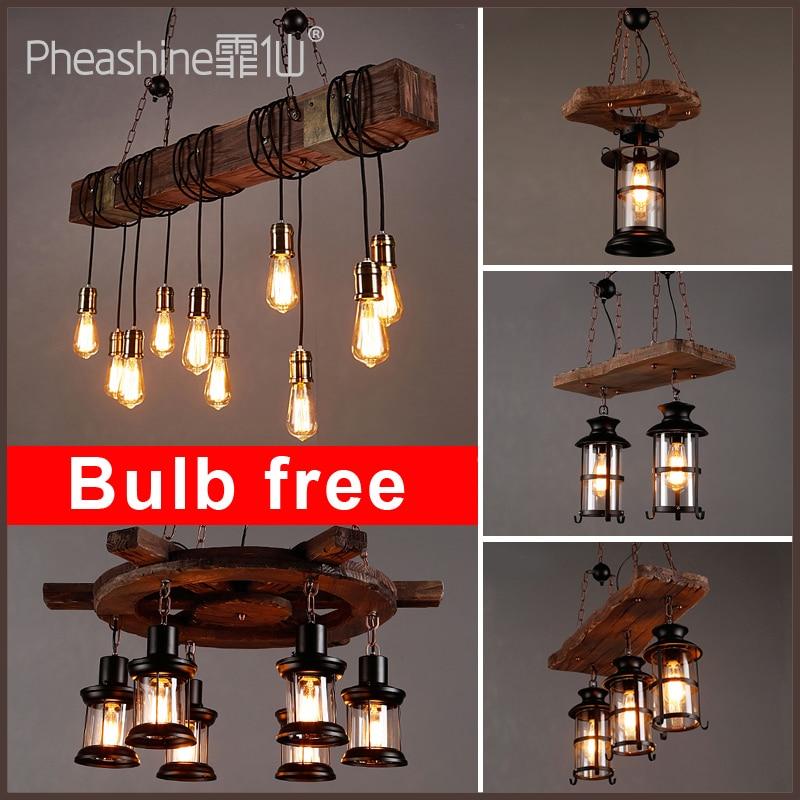 Candelabro creativo de madera para bar, restaurante campestre, candelabro industrial de madera, loft, café americano, barco, país, industri
