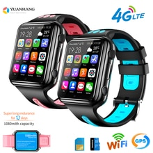 Smart GPS Wifi Lage Student Kinder Telefon Uhr Android System Uhr App Installieren Bluetooth Remote Kamera Smartwatch 4G SIM karte