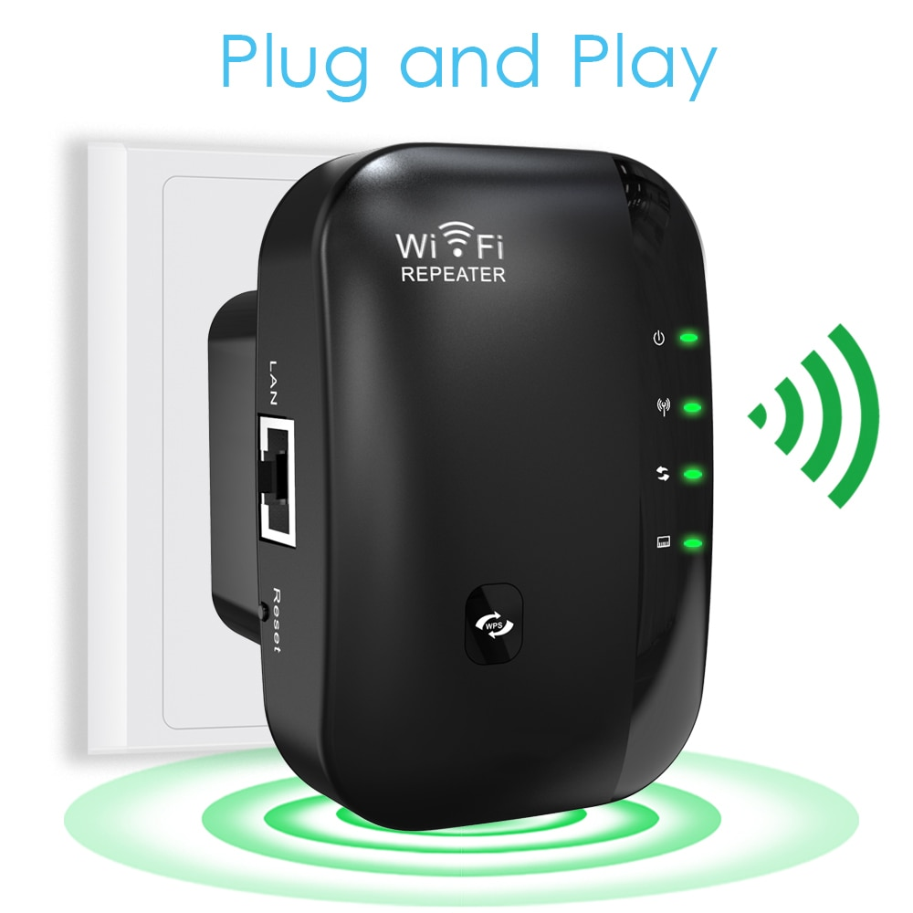 300Mbps WiFi Repeater WI FI Extender Wi-Fi Amplifier 802.11N/B/G Router Booster Repetidor Wi fi Reapeter Access Point