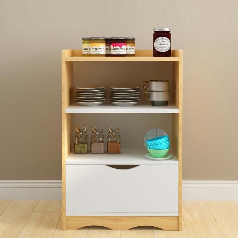خزائن المطبخ البساطة الحديثة متعددة الوظائف خزانة الشمال بسيط أثاث المطبخ خشب متين مساعد