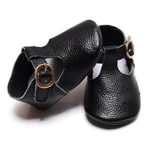 Туфли Mary jane для маленьких девочек, T-bar, из коровьей кожи, балетные туфли для маленьких принцесс, обувь для новорожденных с мягкой подошвой