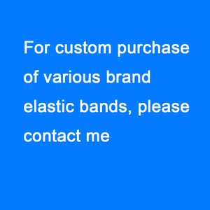 2 styles of 3 meters Customized brand name elastic band high quality clothing headband accessories